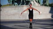 Момиче със страхотни умения - Jump Rope Girl ..