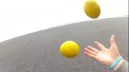 Жонглиране из Исландия - Juggling Around Iceland