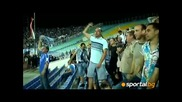 Феноменално!!! Сектор Б полудява след феноменалния Гол на Гара Дембеле!!!