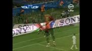17.06 Испания - Ирак 1:0 Давид Виля гол ! Купа на Конфедерациите