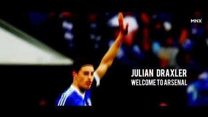 Julian Draxler - Welcome to Arsenal Fc