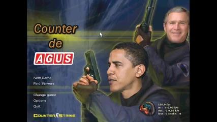 La Cumbia del Counter con Obama y Bush