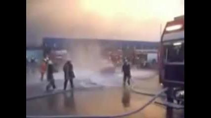 Пожарникари без работа ;д