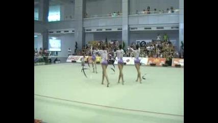 Златните Момичета на България(обръчи и ленти)- Подготовка за Олимпиадата-2012