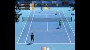 Virtua Tennis 2009 - Федерер и Надал срещу Родик и Джокович
