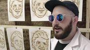 USA: Buy actual sh*t paintings at Hanksy's 'Dump Trump' pop-up shop