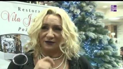 Vesna Zmijanac - Intervju - Novogodisnji program - (RTV Novi Pazar 31.12.2016)
