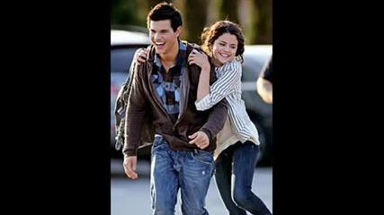 Taylor Lautner&selena Gomez