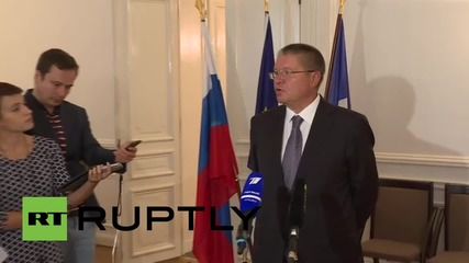 France: Ulyukaev touts potential infrastructure projects with French companies