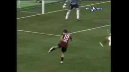 Supercup Milan - Sivilla (2 - 1 Jankulovski)