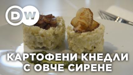 Картофени кнедли с овче сирене, Словакия