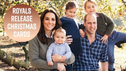 Kate & Meghan's Christmas cards are worlds apart