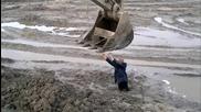 Руснак заседна в калта