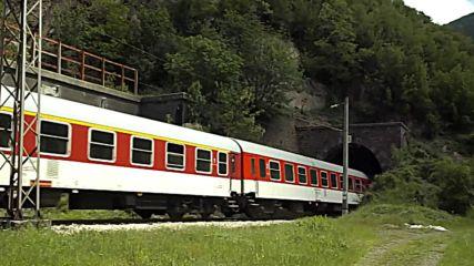 "Бвзм4611 ""дунав"" излиза от тунел №2 на Владо Тричков"