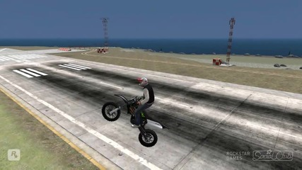 Gta Tbogt My First Stunt Video Hd*