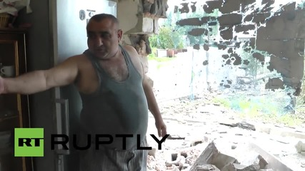 Ukraine: See devastating aftermath following renewed shelling in Donetsk