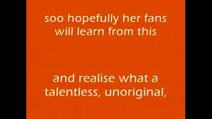 Кристина Агилера копирва Лейди Гага , Ейми Лий и Бритни както винаги