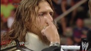 Daniel Bryan refuses to surrender the Wwe World Heavyweight Title: Raw, May 26, 2014