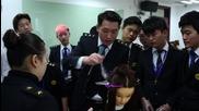 China: Aspiring hairdressers undergo military-style training in Shanghai