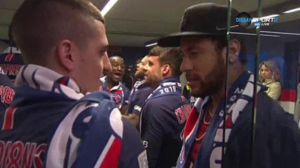 ПСЖ вдигна трофея от Лига 1