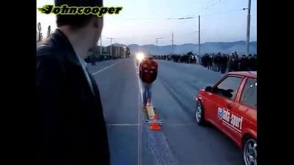 Лада Самара се подигра с Nissan Gtr