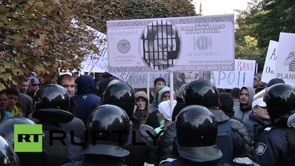 Moldova: Protesters gather in Chisinau as Ex-PM Vlad Filat faces corruption charges