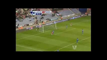 Уигън Атлетик - Суонси Сити 2-3