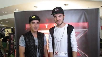 Братята Пламен и Иво на кастинг на X Factor Варна