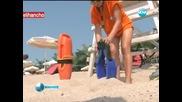 Млади спасителки пазят плажуващите във Варна