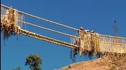 Изграждане на мост от трева за три дена