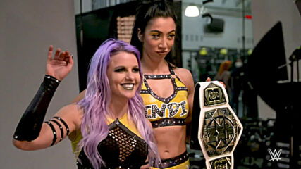 The Way celebrate their NXT Women's Tag Team Title win: WWE Network Exclusive, May 4, 2021