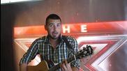 Цецо от София се явява на кастинг на X Factor