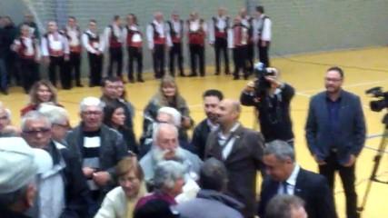 Старозагорци посрещат Обединените патриоти- 29 Октомври 2016