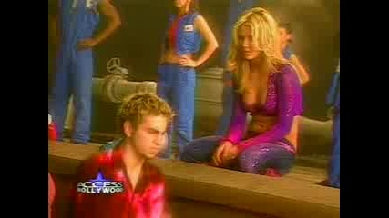 Britney Spears - Заснемането на Joy Of Pepsi