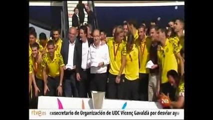 """""""Севиля"""" подписа нов договор със старши треньора Унай Емери"""