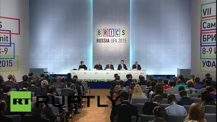 Russia: Putin announces 'completion' of New Development Bank