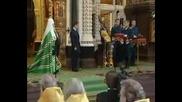 Реч на Медведев в храма Христос Спасител. Москва. 29.06.2008 год.