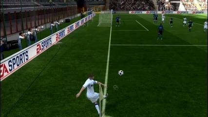 Fifa 12 - Sneijder Goal from corner - 720p
