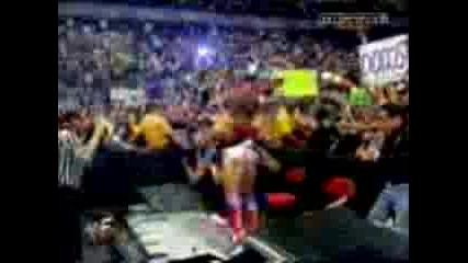 WWF - The Rock, Triple H, Kurt Angle
