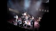 Аквариум на сцената на Royal Albert Hal