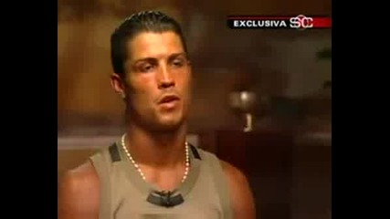 Cristiano Ronaldo New Interview About United