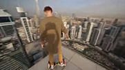 Игра със смърта на покрива на небостъргач !