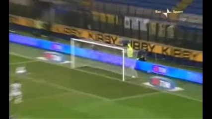Мач Inter - Siena 4 - 3 09.01.2010