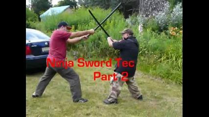 Unique & Real Ninja sword techniques