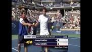 Us Open 2010 Rafael Nadal - Gilles Simon