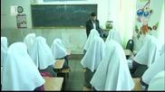 В Иран направиха молещ се робот