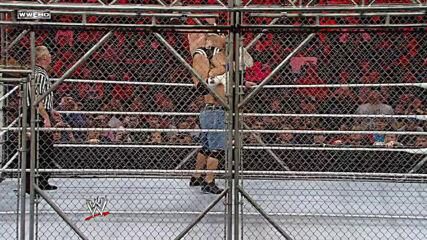 John Cena vs. Alex Riley - Steel Cage Match: Raw, Feb. 28, 2011 (Full Match)