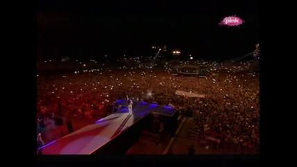 Ceca - Pozdrav za publiku - (LIVE) - (Usce 2) - (TV Pink 2013)