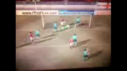 Fifa 07 goal na C. Ronaldo ot korner