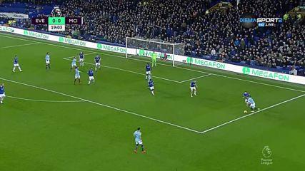 Евертън - Манчестър Сити 0:1 /първо полувреме/